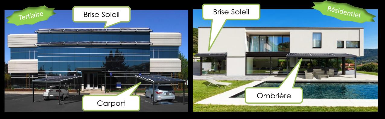 ombriere brise soleil photovoltaique neonext